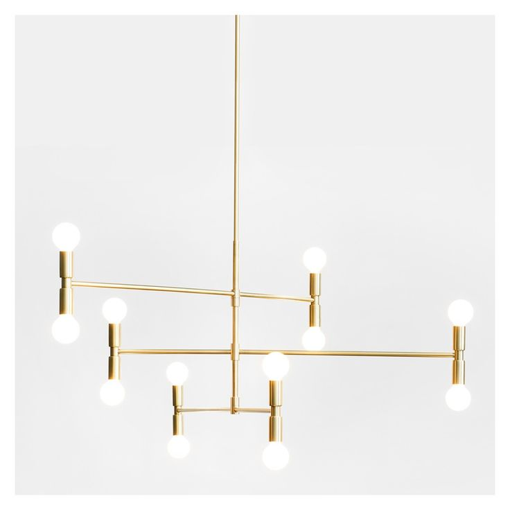 Available exclusively at The Conran Shop, the Dot Atomium Suspension Light is a design from Montreal-based studio, Lambert & Fils, that showcases natural brass and a minimalist aesthetic.