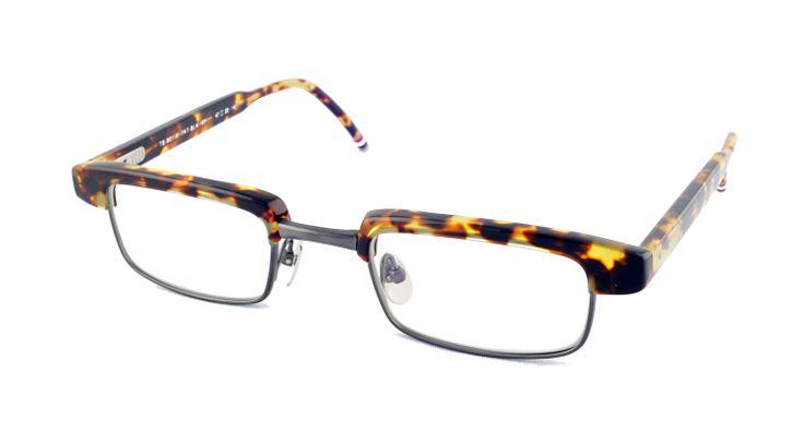 Thom Browne   #GetTheLook #ThomBrowne #Specs #Glasses #Eyewear #Frames