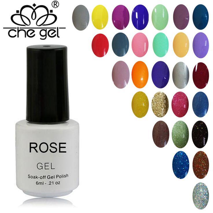 ROSE Rendam Off Warna Gel Pilihan Kecantikan Kuku Manicure Semi Permanen UV LED Gel Nail Polish Varnish ZJY02