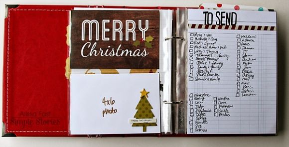 Christmas Planner | Simple Stories