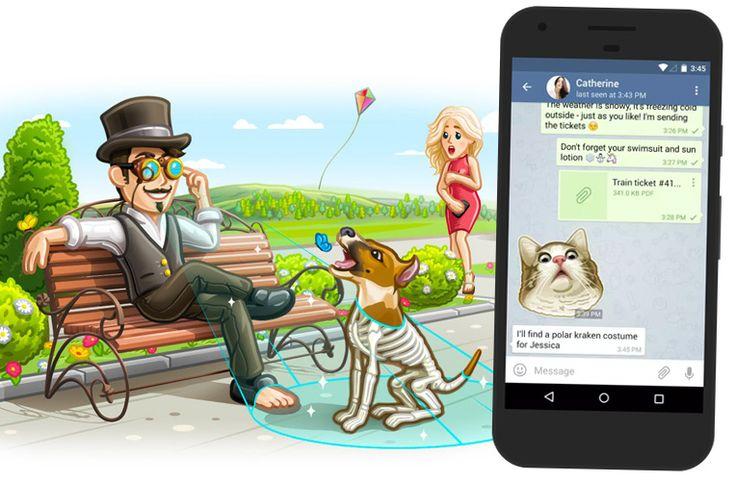 Bezpečný kecálek Telegram přináší otevírání odkazů a upravené prostředí - https://www.svetandroida.cz/bezpecny-kecalek-telegram-otevirani-odkazu-201611?utm_source=PN&utm_medium=Svet+Androida&utm_campaign=SNAP%2Bfrom%2BSv%C4%9Bt+Androida