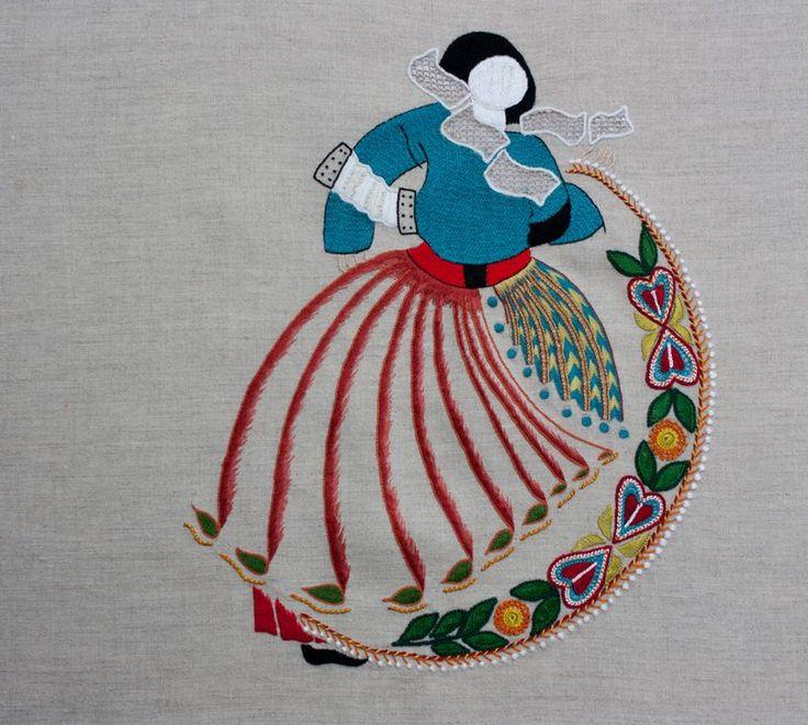"""Danseuse """"mille pattes"""" Modèle P. Jaouen"""