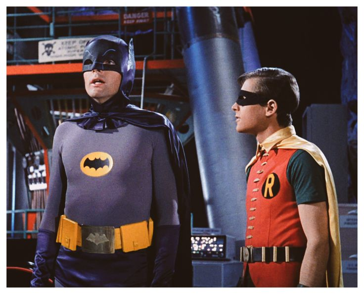 Meanwhile, back at the Batcave Batman (Adam West) and