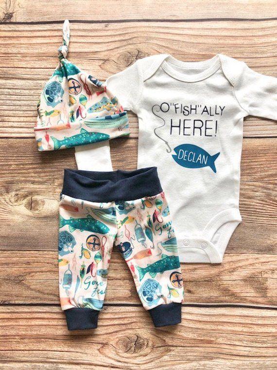 ee3b4b7f5 Ofishally Here Newborn outfit