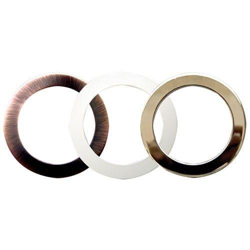 Elco RM3 3 Oversized Metal Trim Rings (copper (Brown))