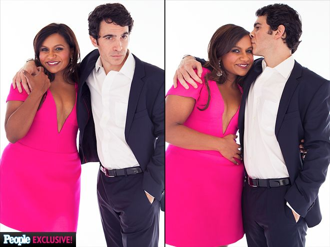 MINDY KALING & CHRIS MESSINA | The Mindy Project costars and winners of On-Screen Couple of the Year keep the chemistry going. Seriously, can they be any cuter?