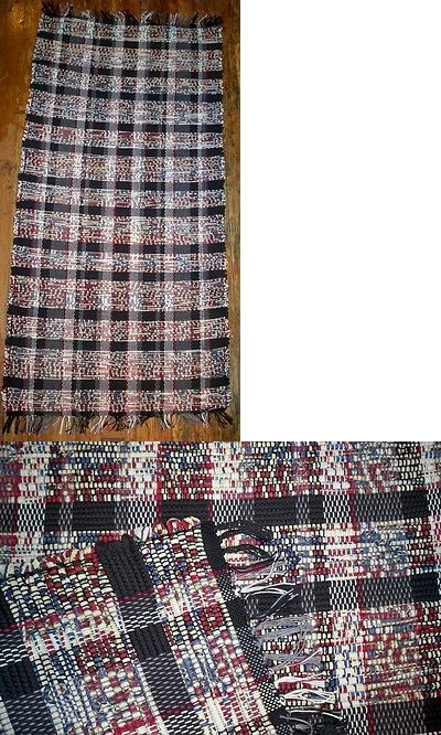 Woven Rag And Braided Rugs 160665 Handwoven One Of A Kind Rag Rug