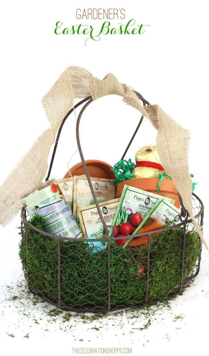 39 best images about easter on pinterest easter party easter gardeners themed easter basket negle Images