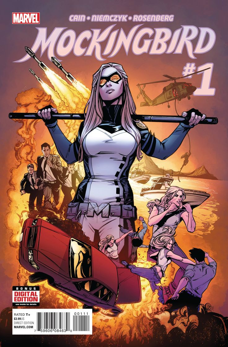 *High Grade* (W) Chelsea Cain (A) Kate Niemczyk (CA) Joëlle Jones BECAUSE YOU DEMANDED IT! Now in her own ongoing series! Bobbi Morse is Mockingbird, S.H.I.E.L.D.'s most versatile, most in-demand agen
