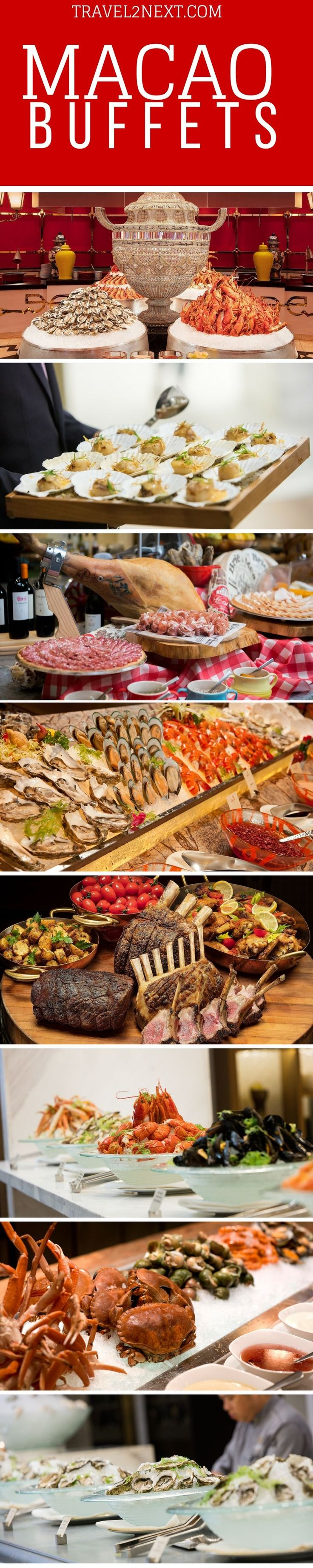 Macao Buffet Bible – How to choose the best buffet in Macau. Macao has a range of dining options to suit all tastes and budgets but if you truly want to treat yourself to a smorgasbord of delights, head for one of Macao's buffet restaurants.