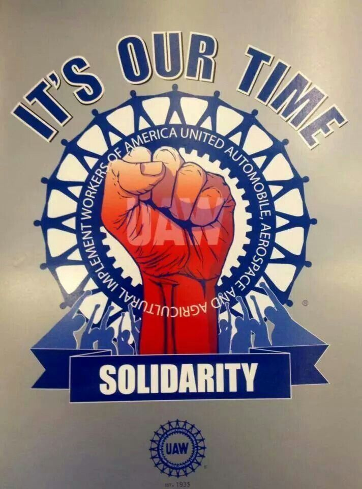 Image result for UAW solidarity wednesday
