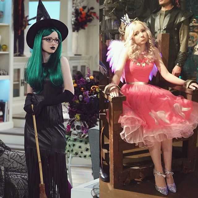 get you a girl who can do both ((cast spells && steal your teeth??)) QUICK FIND SOME CANDY CORN. the last Halloween episode of #livandmaddie starts in 30 mins