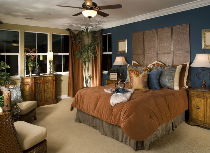 Master Bedroom Decorating Ideas Blue And Brown 530 best bed rooms images on pinterest | master bedrooms