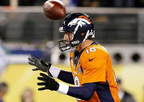 """Peyton says...""""aaaahh where's the ball!?!?"""" Seahawks victory!!!"""