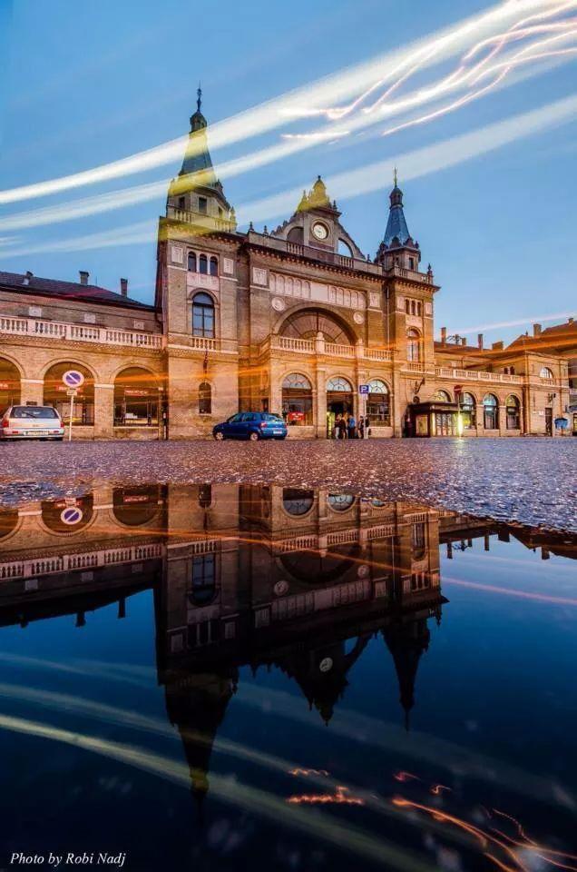 A vasutállomás