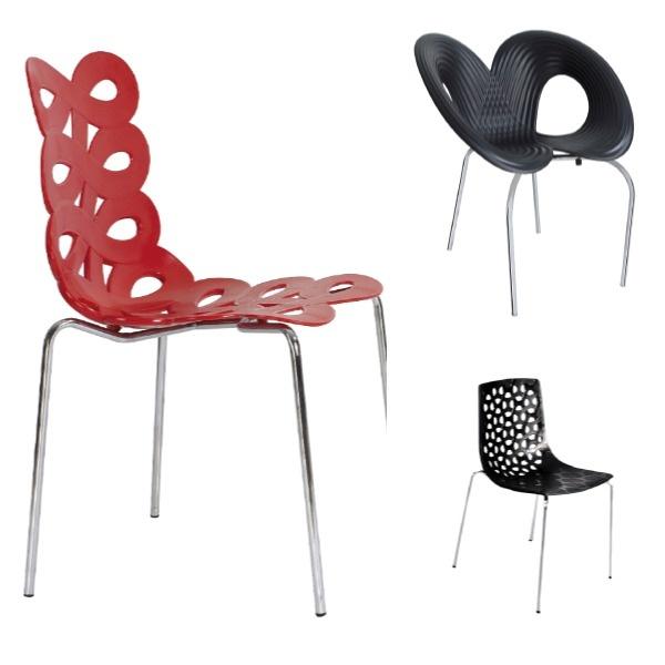 En un mismo espacio ubica diferentes tipos de silla. ¡Combina estilos y crea tu propia tendencia!   Estas referencias las en promoción en cualquiera de nuestras sedes.