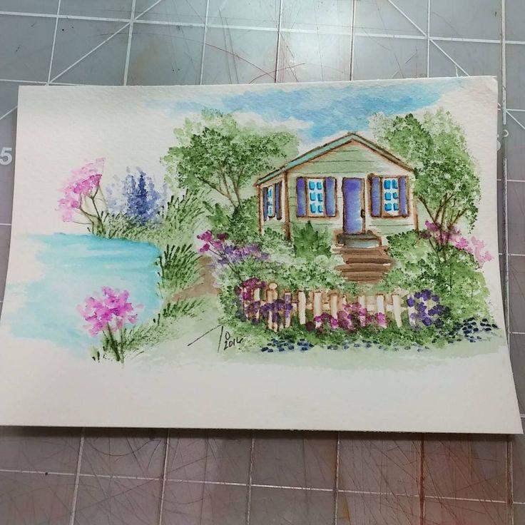 Art Impressions wonderful watercolor line