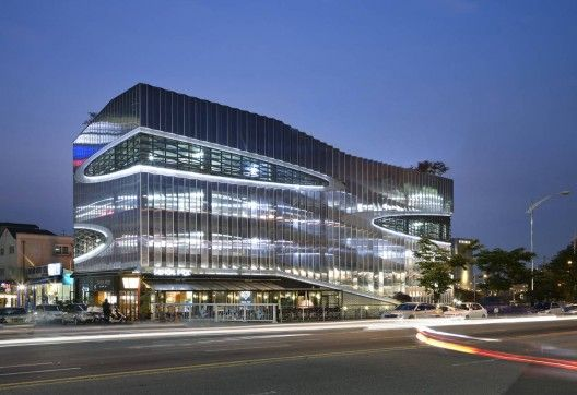 Who says a parking lot can't be beautiful?   Herma Parking Building   JOHO Architecture (2010)