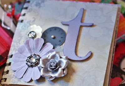 Scrapbook letter T