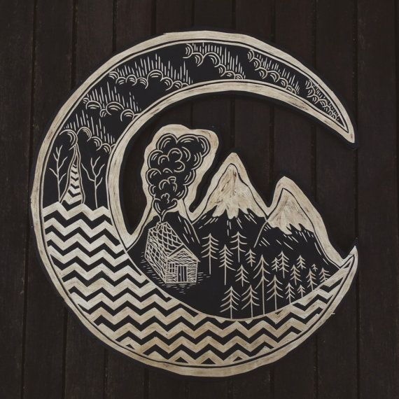 Hey, I found this really awesome Etsy listing at https://www.etsy.com/listing/222371628/twin-peaks-woodcut