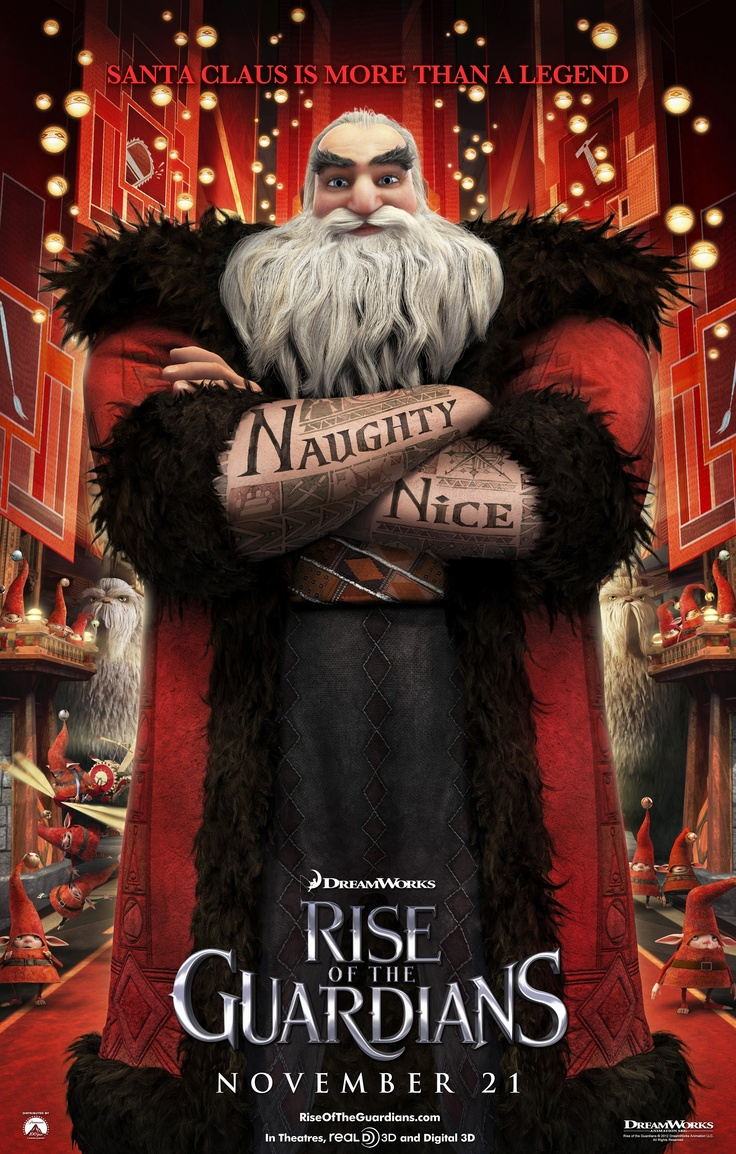 Rise of the guardians santa claus we protect the children of