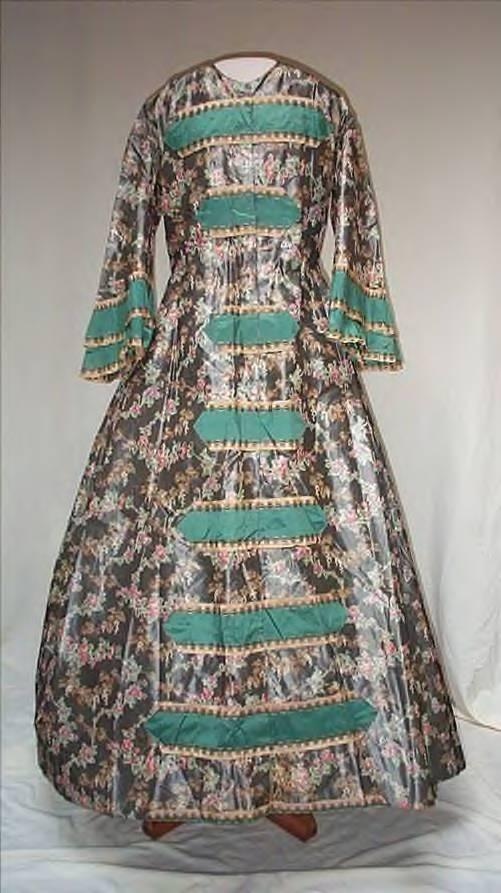 civil war era wrapper 1860s here's another K Krewer