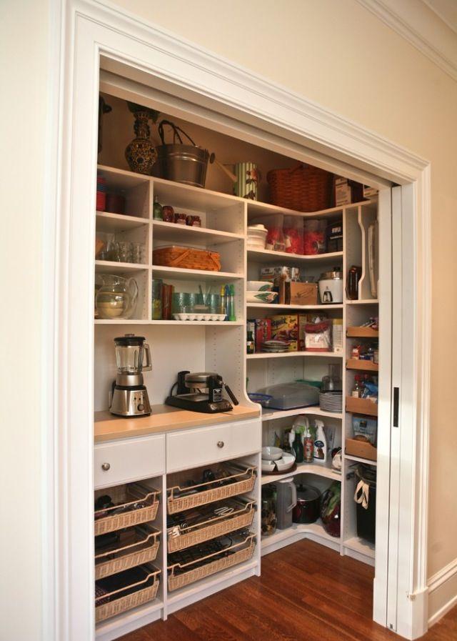 很好的儲藏室收納空間