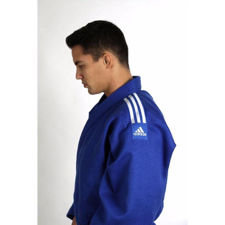 kimono judo adidas azul