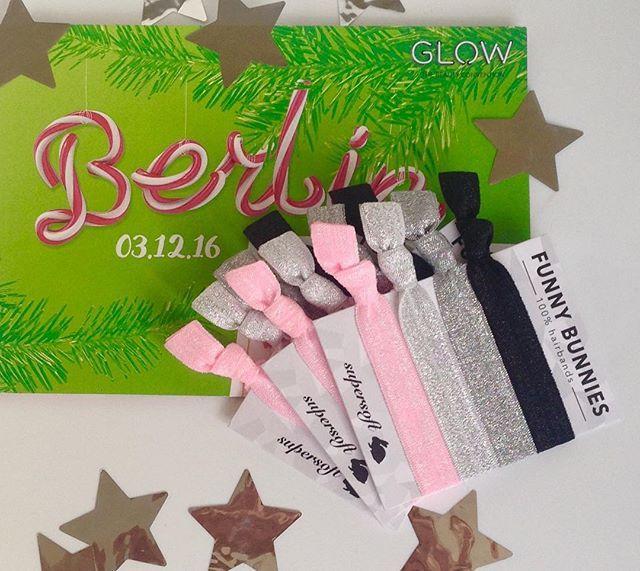 Der Countdown läuft... nur noch 4 Tage! Dann heißt es: LET'S GLOW! ✨🌟🙌🙌🙌 #funnybunnies #glowberlin #glow #christmasglow #hairties #armcandy #jewelry #accessoires #smile #fashion #cute #instagood #instadaily #pink #silver #black #haargummi #zopf #morethanahairtie #followme
