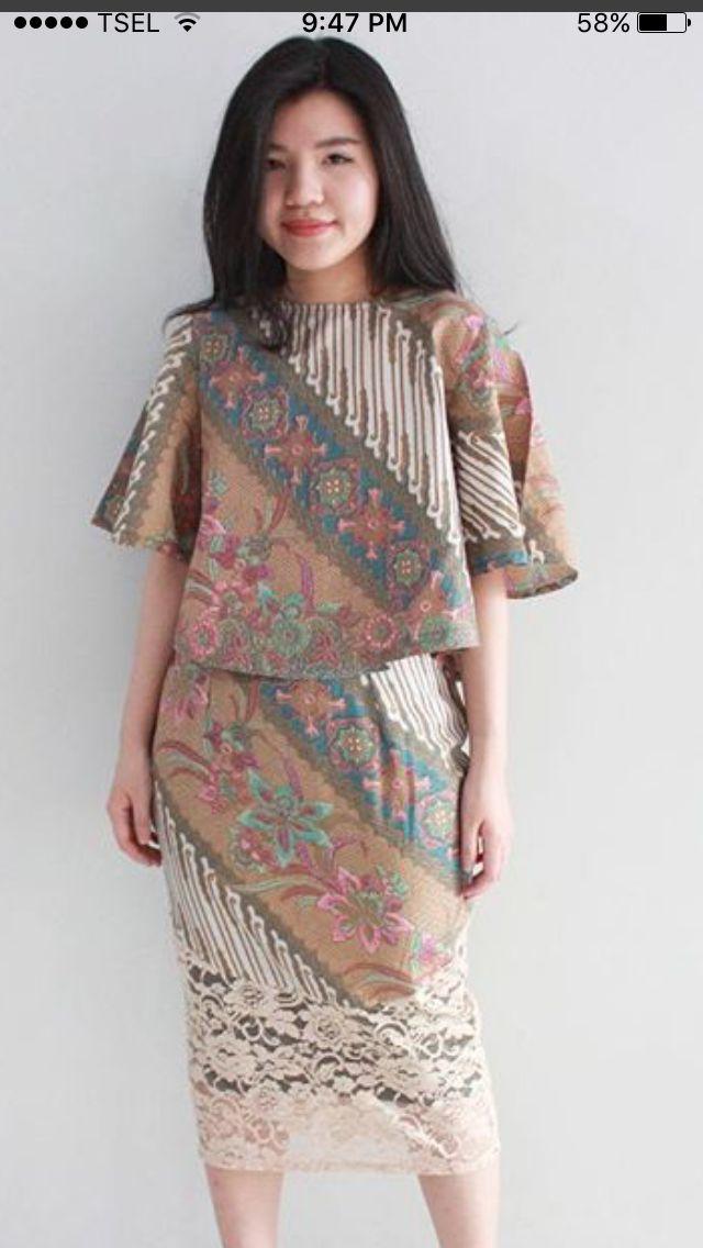 25 best ideas about Modern Batik Dress  on Pinterest