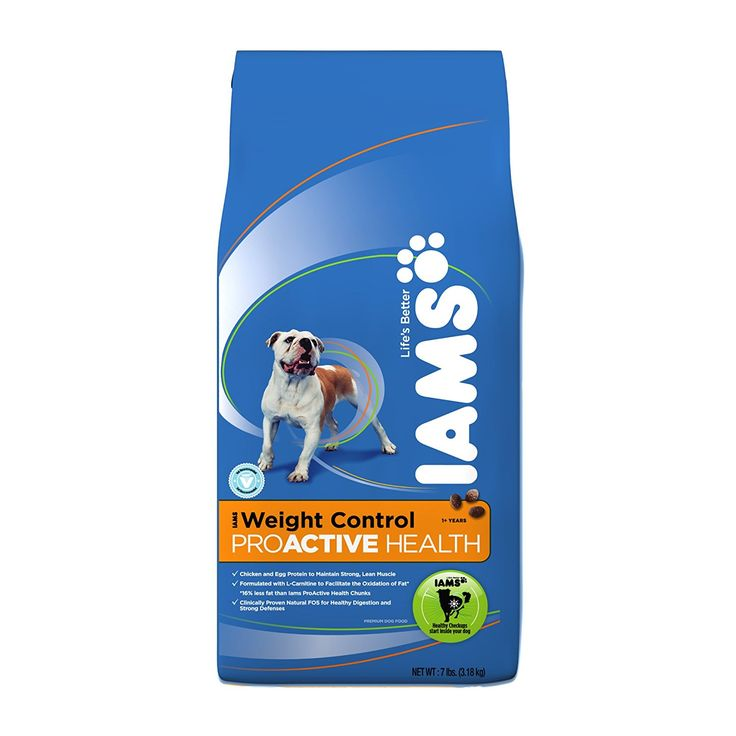 Iams Proactive Health Adult Dog Weight Control Premium Dog Food 7 Lbs (Pack of 2) ** Check out this great image  : Dog food brands