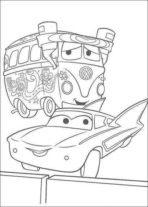 Desenhos para colorir Carros 66