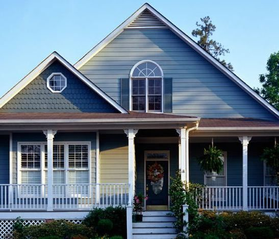Exterior Color Schemes For Ranch Style Homes: 40 Best Possible Vinyl Siding Colors For Our House Images