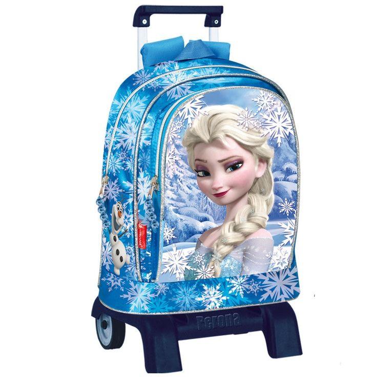 Loja dos Pequenotes - Trolley Escolar Frozen Disney Heart grande