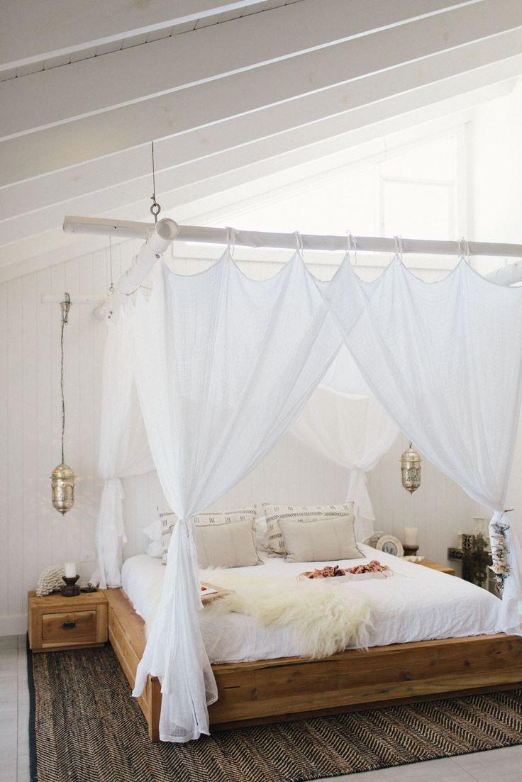 die 25+ besten ideen zu himmelbetten auf pinterest | mädchen ... - Schlafzimmer Ideen Himmelbett