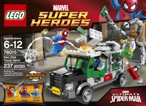 LEGO Superheroes 76015 Doc Ock Truck Heist - http://bricksandblocks15.tumblr.com/130466733366