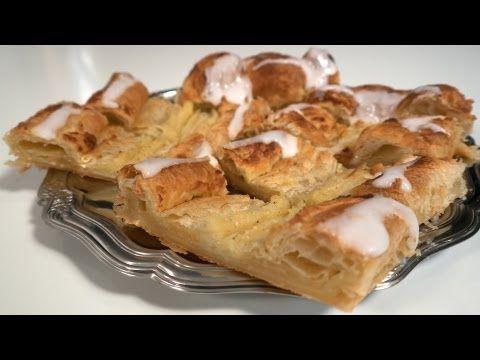 Pastelaria dinamarquesa - receita base - danish bar pastelaria