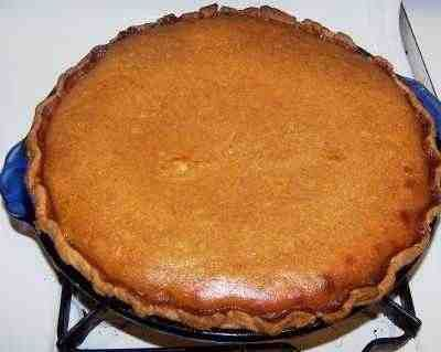 Rich Pumpkin Pie Recipe - Awesome!