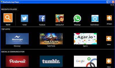 Cara Install Aplikasi Android Di Pc Atau Laptop - Buat Blog