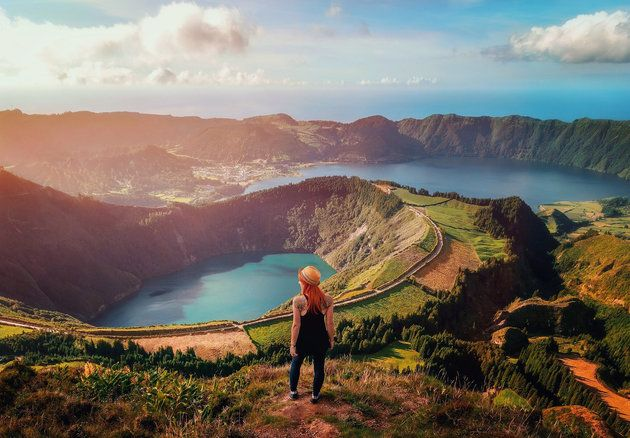 The Azores Islands are the Atlantic Ocean's Best-Kept Secrets For Excellent Reason | Via Huffington Post Lifestyle| 6/01/2017 The only thing better than an unspoiled paradise is one that nobody you know has visited yet...Picture emerald beaches, dazzling blue lakes, verdant pastures, volcanic caverns, bubbling mud pots, sprawling sunrises and waterfalls cascading deep into ravines. UNESCO designated the Azores a Biosphere Reserve in 2009 for their impeccable preservation.   #Portugal