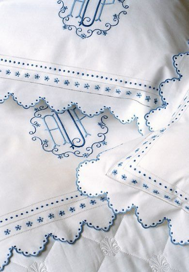25 Best Ideas About Embroidered Bedding On Pinterest