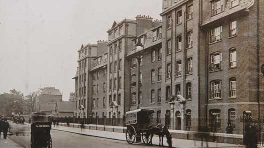 Peabody Buildings, Lillie Road, Fulham c 1915