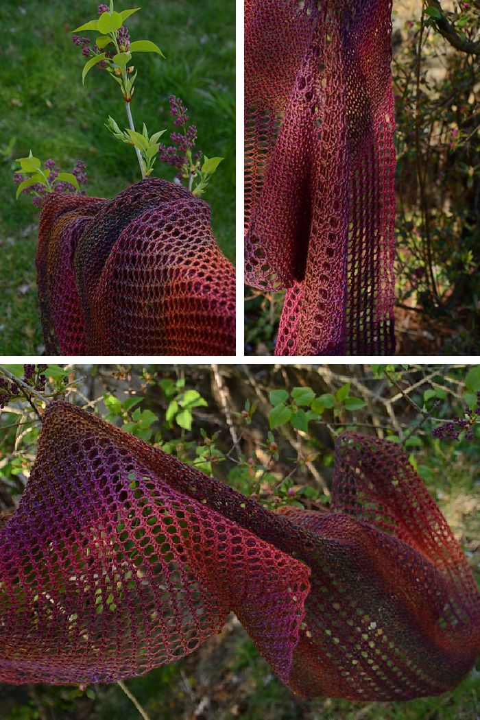 Ravelry: Shine stole with Jojoland Melody Superwash - knitting pattern by Janina Kallio.