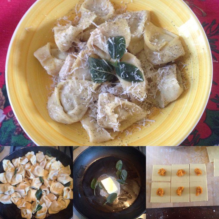 Tortelli di Zucca... pumpkin pasta