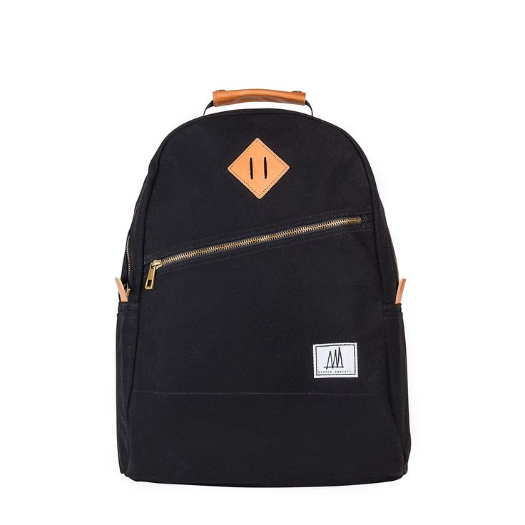 Mens Backpack | The Void - Black | Status Anxiety $129 incl ship from Australia. Delivery 3-7 days.