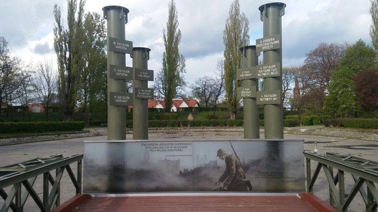 Pomnik na Placu Saperów   Głogów (Lower Silesia Voivodeship), Poland