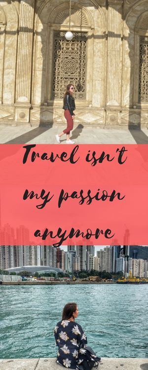 Good My passion isn ut long flights bad hotels noodles or sunburn My