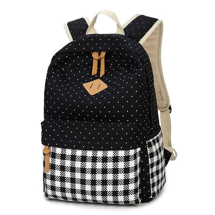Feminine Backpack Teenage Canvas Backpacks for Teen Girls Youth Fashion Backpack Mochila Feminina Sac A Dos Femme Women Bagpack