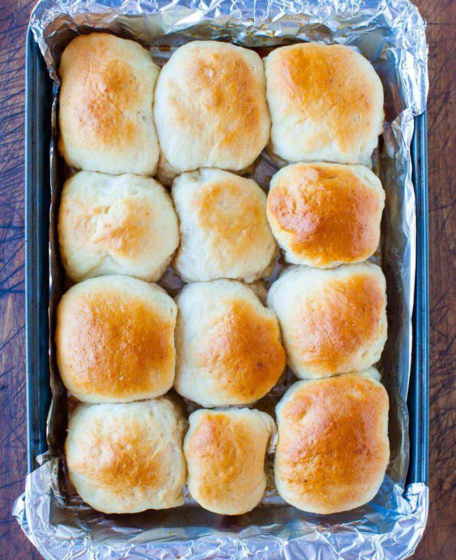 Honey Dinner Rolls by loveveggiesandyoga: Pass the rolls please! #Rolls