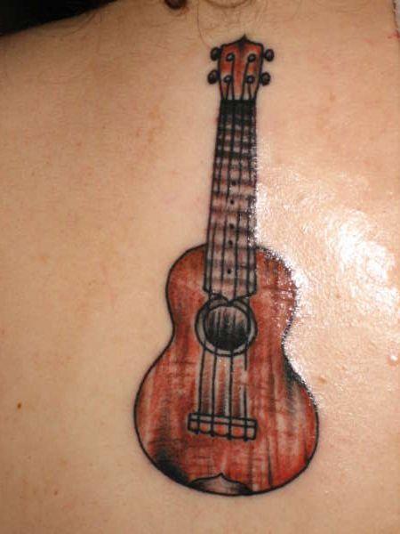 Ukulele tattoo!